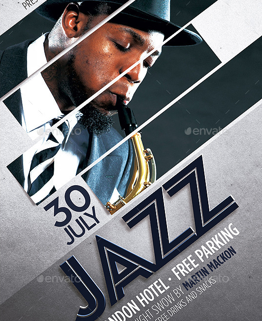 Modern Jazz Flyer Template