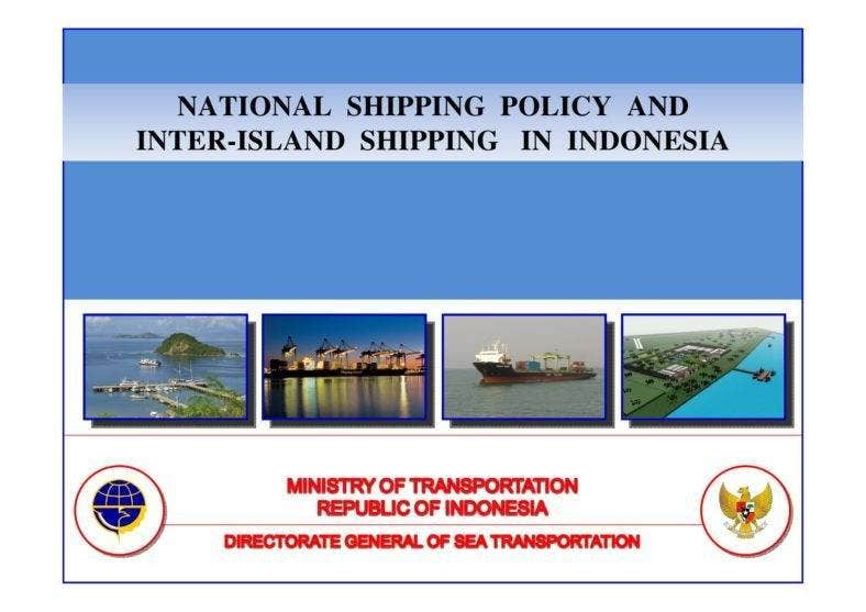 National Shipping Policy