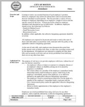 office-of-human-resources-attendance-policy-template
