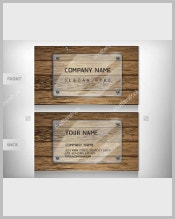 old-wooden-business-card