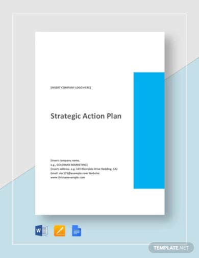 one-page-strategic-action-plan