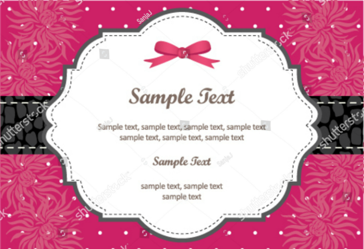 pink-vector-name-place-card-template