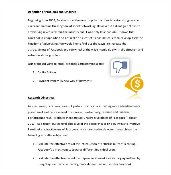 product project marketing proposal
