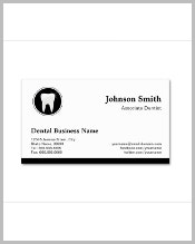 professional-dentist-appointment-business-card