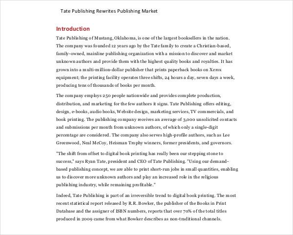 publishing rewrites publishing market