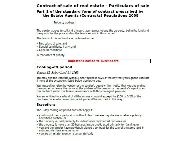 real estate purchase sale agreement template