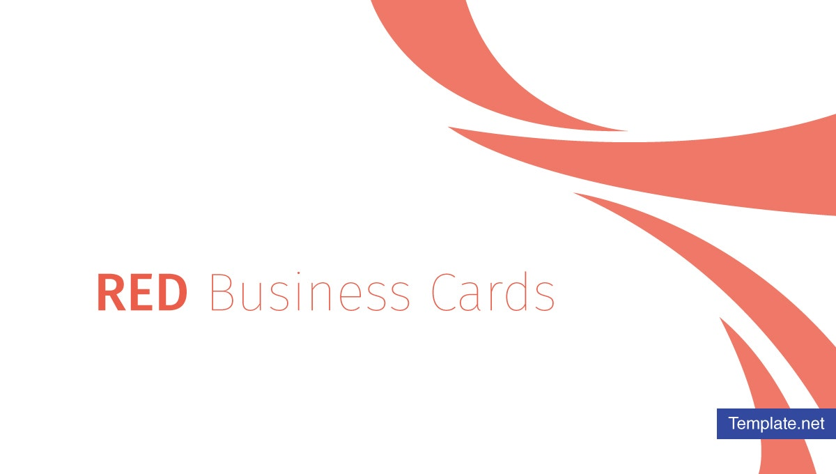13 Red Business Card Designs Templates Psd Ai Free
