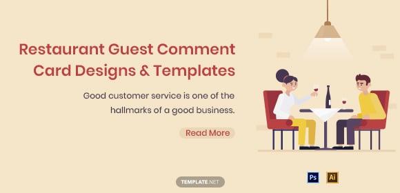 restaurantguestcommentcarddesignstemplates