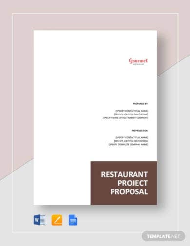 restaurant-project-proposal-template