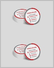 round-shaped-personal-business-card