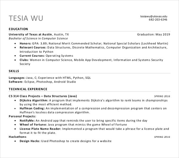 sample sales manager resume