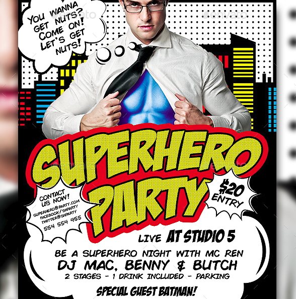 10 costume party flyers designs and templates psd ai free