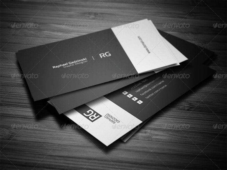 9+ Minimal Personal Trainer Business Card Designs