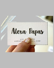 small-letterpress-business-card