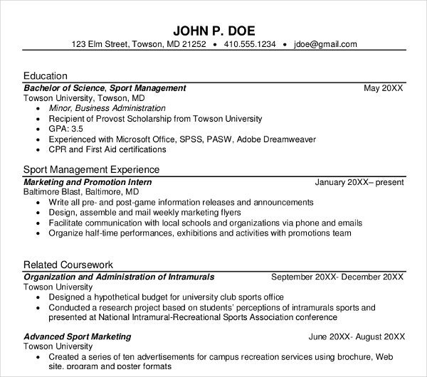 10  management resume templates