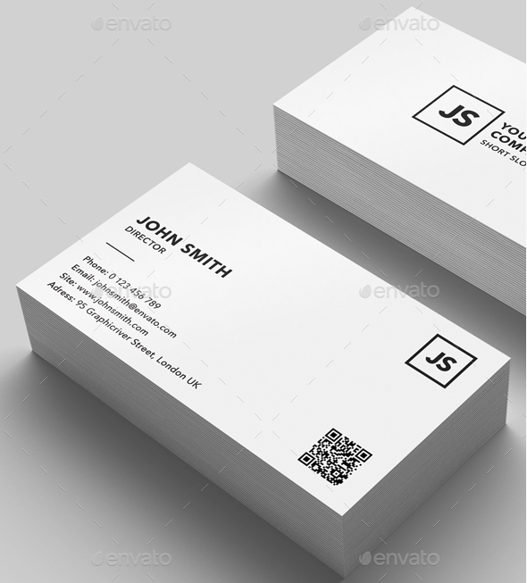 Strict Business Card