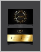 stylish-business-card-with-golden-details