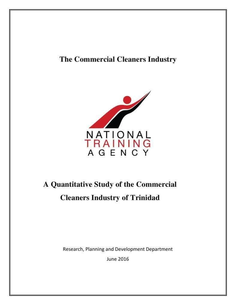 Survey on Commercial Cleaner Services