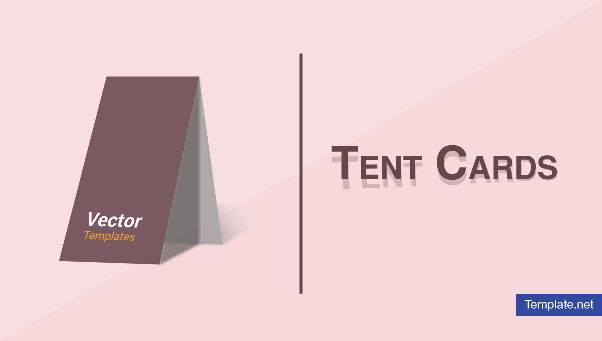 18 Tent Card Designs Templates Ai Psd Indesign