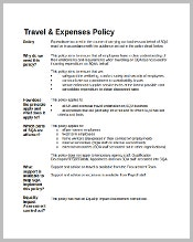 travel-expense-policy