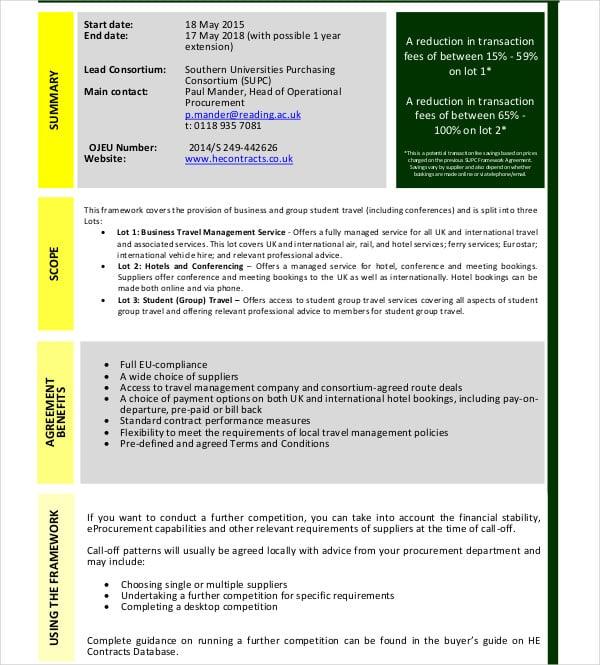 travel management services agreement