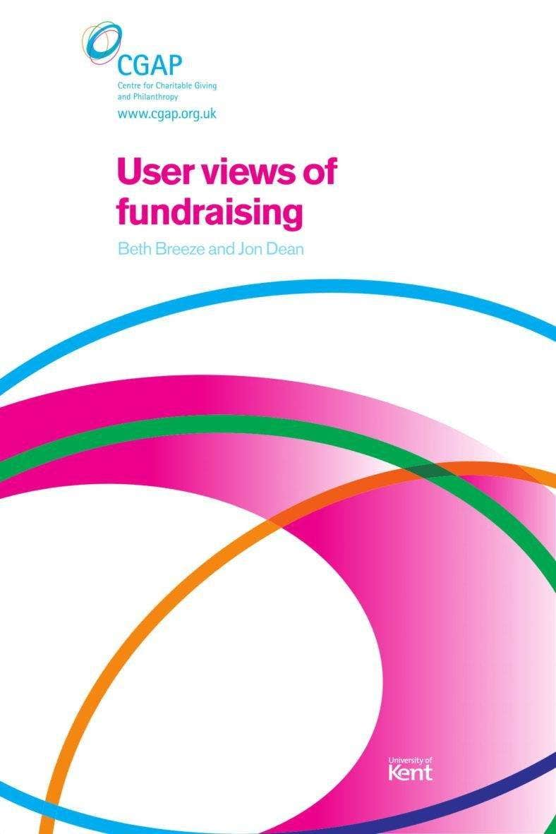 User Views of Fundraising