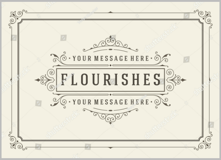 vintage-ornament-name-place-card-vector-template