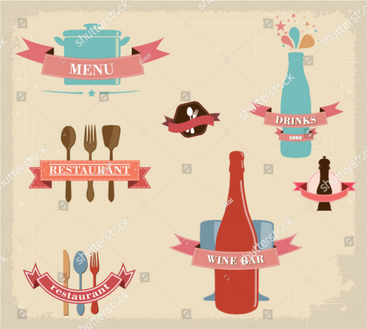 vintage-retro-grunge-restaurant-food-label-template