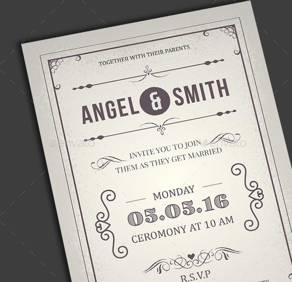 Wedding Invitation/Anniversary Card