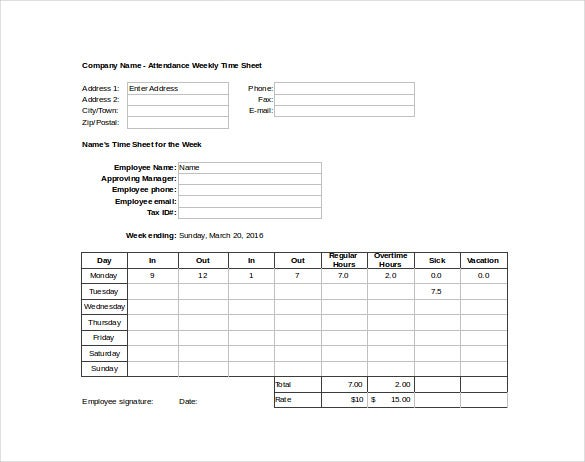 weekly-attendance-time-sheet-excel-format-free-download