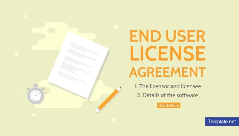 What is End User License Agreement