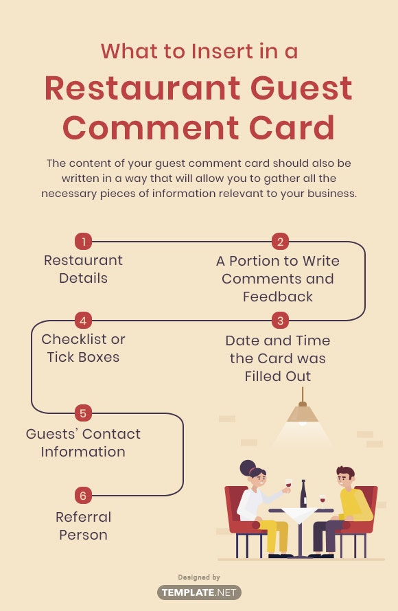 what to insert in a restaurant guest comment card2
