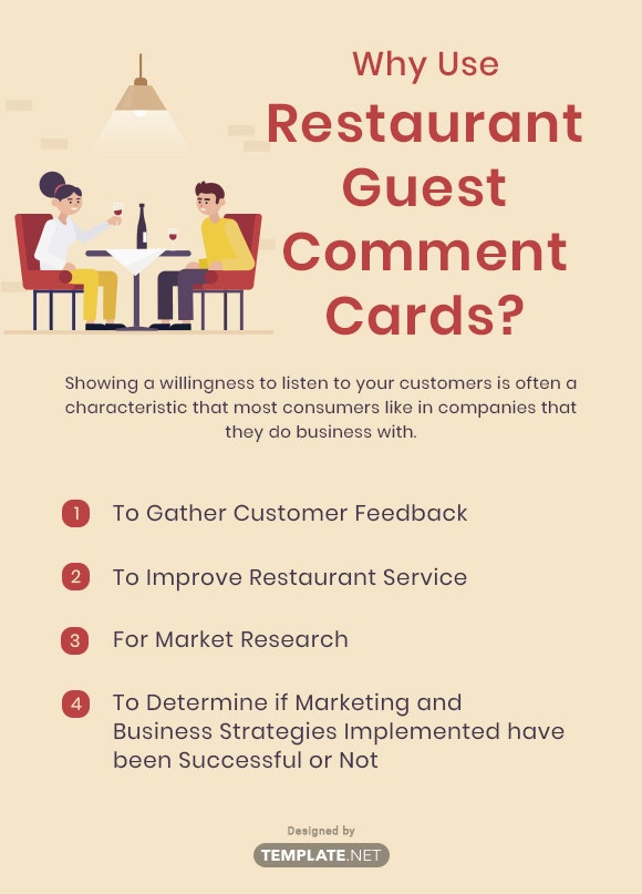 why use restaurant guest comment cards