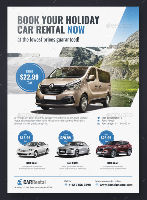 a4-car-rental-flyer