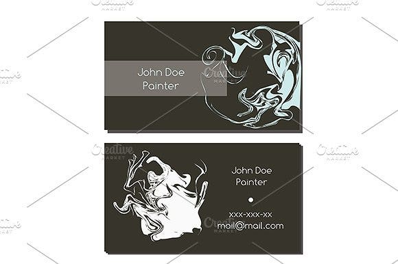 abstract-painter-business-card