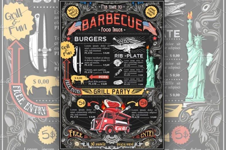 bbq-street-food-truck-menu