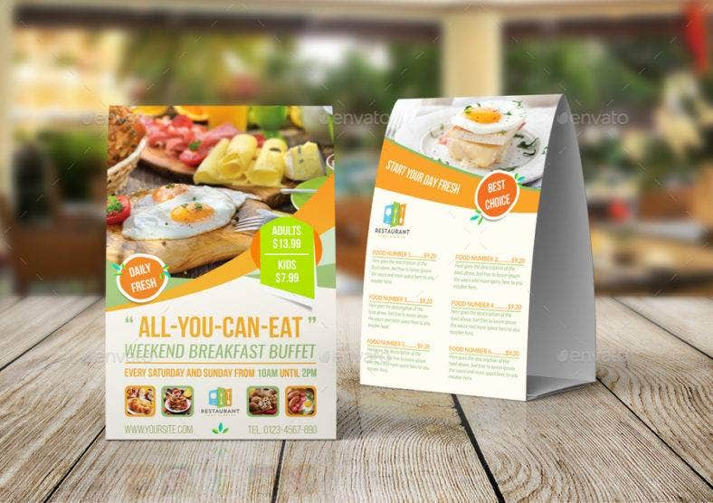 breakfast table tent card 788x556