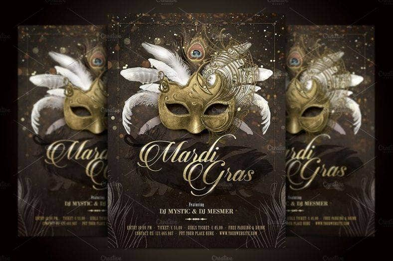 11  costume party flyers designs and templates