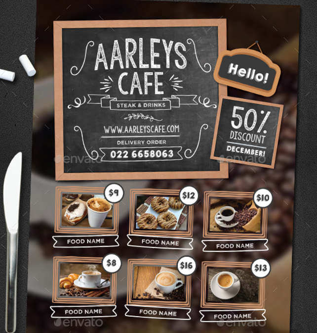 chalkboard-food-flyer