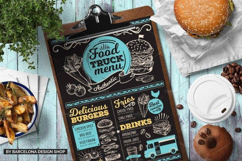 chalkboard-food-truck-menu