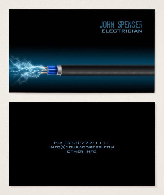 dark-electrician-business-card