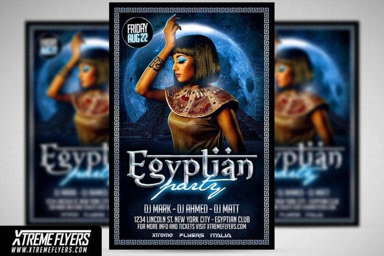 egyptian night flyer template 1 788x526