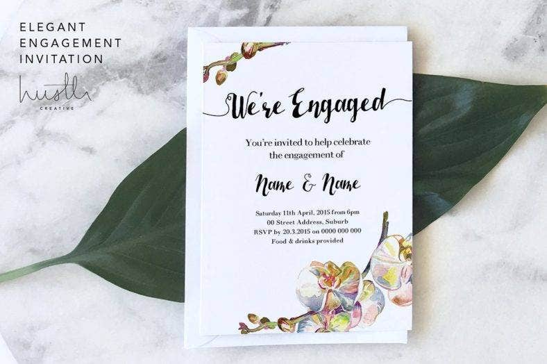 elegant-engagement-invitation-card