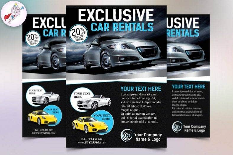 exclusive-car-rental-flyer
