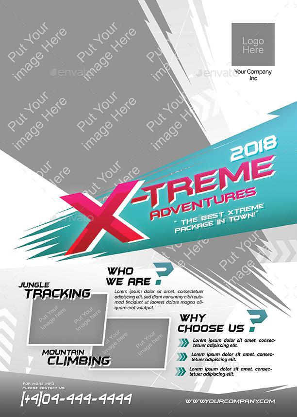 extreme-adventure-flyer