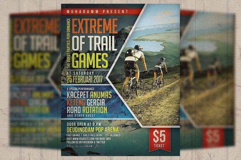 extreme-sport-adventure-flyer