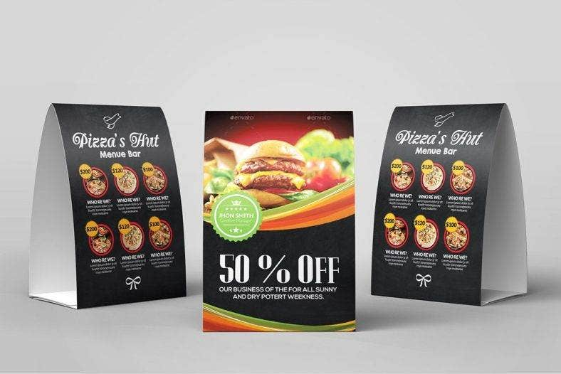 fast food table tent card 788x526