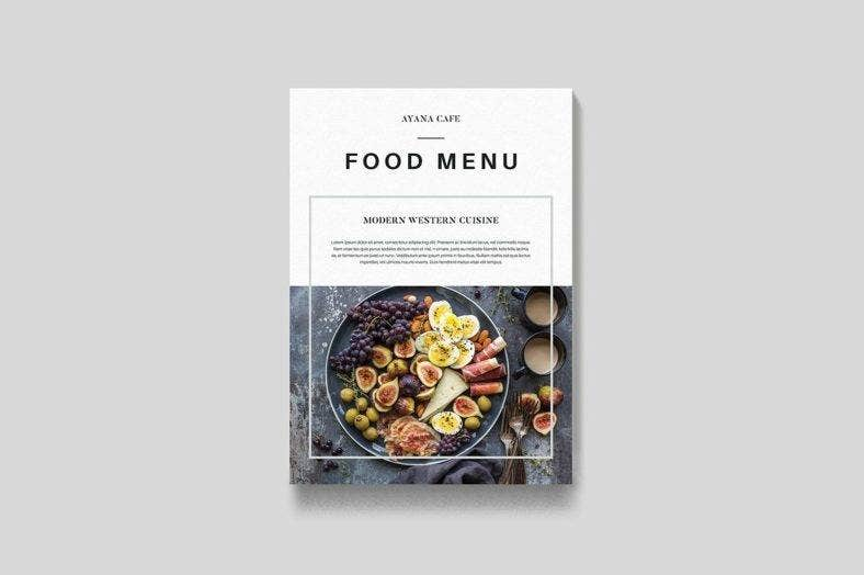 flat-lay-food-and-drink-menu