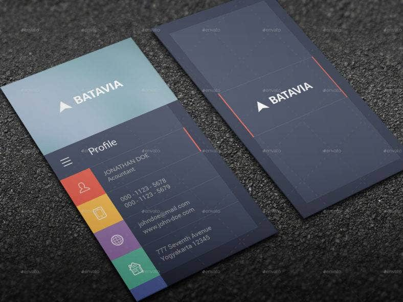 flat-modern-business-card