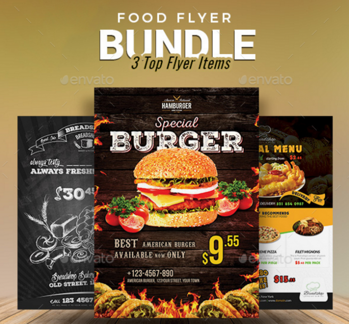 food-flyer-bundle